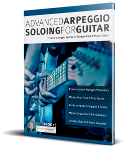 Advanced Arpeggio Soloing for Guitar by Chris Brooks